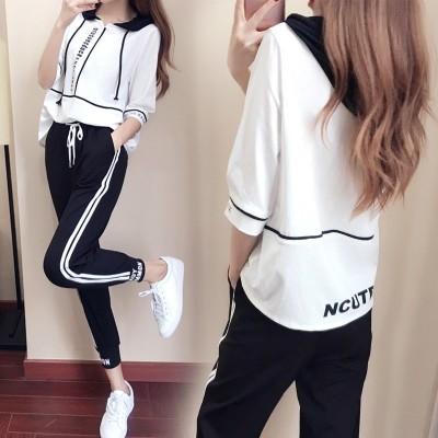 少女套装14-16岁2020夏装新款13高初中学生夏季韩版15休闲运动服