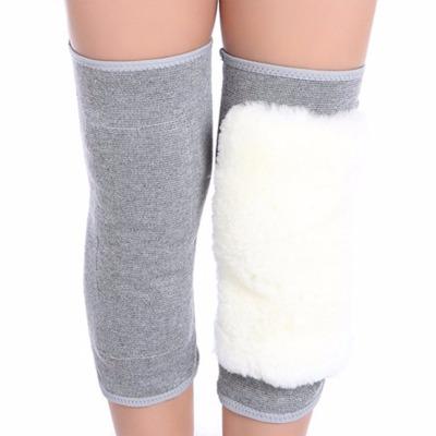 羊毛护膝保暖老寒腿男女士中老年关节冬季加厚骑车防风护腿空调房