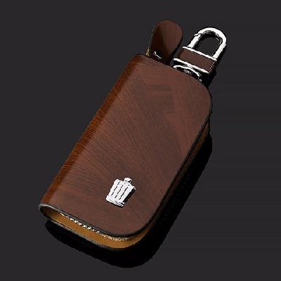 适用于丰田皇冠真皮钥匙包10-12款 10代新皇冠 改装车用 钥匙套包