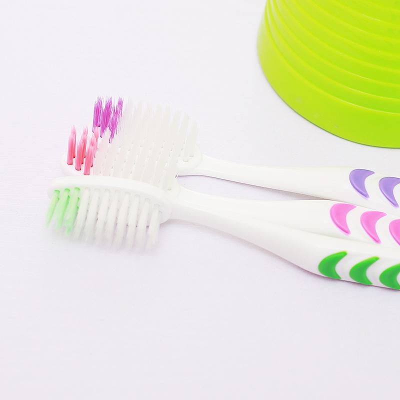 【10-50支装】成人软毛牙刷家庭装竹炭软毛情侣成人儿童牙刷组合的细节图片8