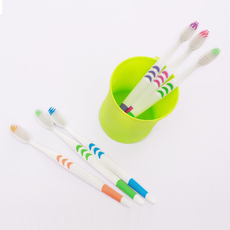 【10-50支装】成人软毛牙刷家庭装竹炭软毛情侣成人儿童牙刷组合的细节图片7