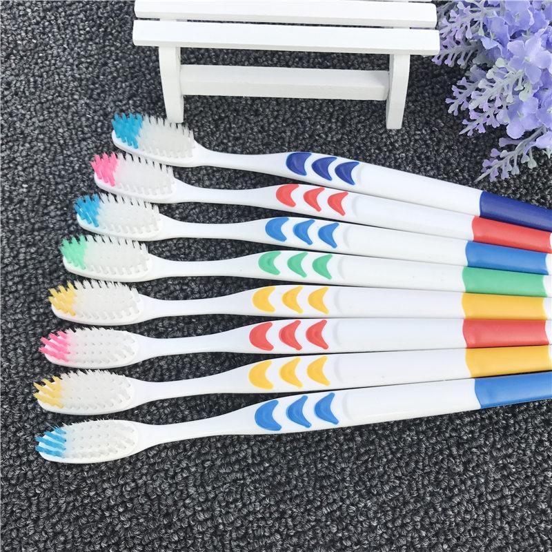 【10-50支装】成人软毛牙刷家庭装竹炭软毛情侣成人儿童牙刷组合的细节图片1