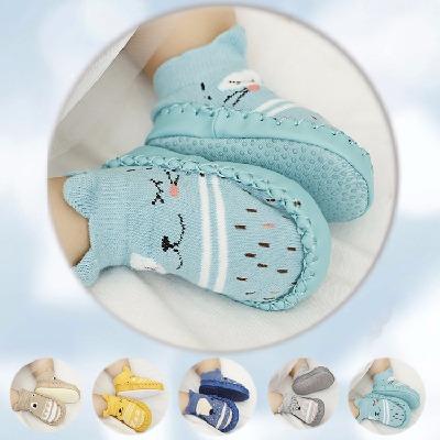 买一送一双袜子夏季宝宝软底防滑学步鞋地板袜婴儿春秋连袜鞋防掉