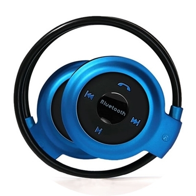 【FM收音机】无线跑步运动蓝牙耳机【可插内存卡MP3】立体声插卡FM收音机MP3头戴式播放器