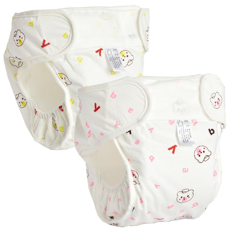 宝宝尿布裤兜纯棉防水可洗透气新生婴儿防侧漏戒尿不湿神器训练裤