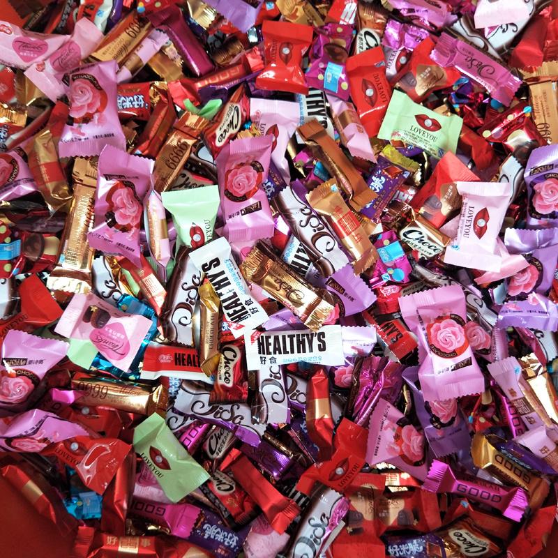 【巧克力实惠装】多口味组合装混合什锦巧克力散装喜糖年货大礼包