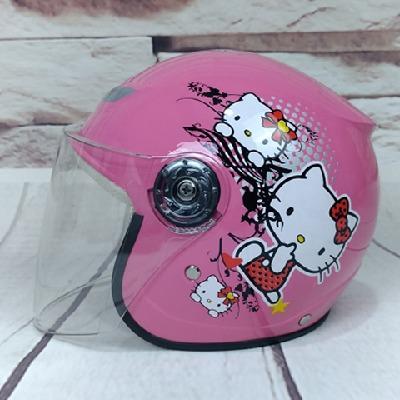 儿童头盔可爱卡通保暖骑行冬季自行车半盔安全帽男女小孩子四季