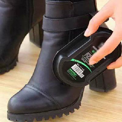 双面擦皮鞋海绵无色鞋蜡刷子皮鞋保养鞋油擦鞋神器
