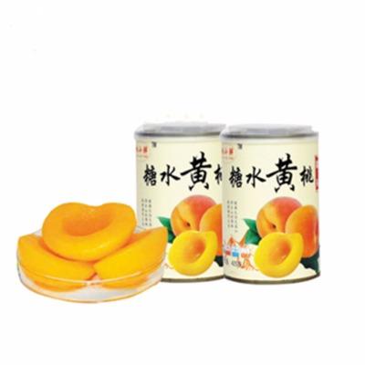 砀山新鲜水果罐头6罐 单罐425克 黄桃罐头