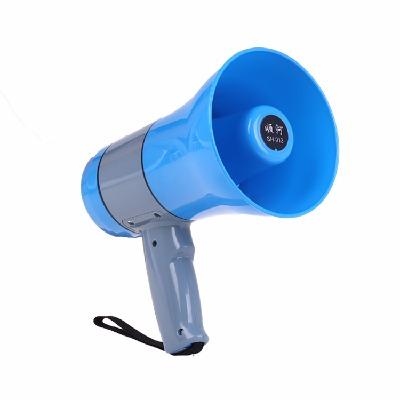 大功率充电锂电池手持喊话器录音240秒插卡U盘宣传叫卖地摊喇叭超市促销导游喊话便携带喊话器广告广播机顺河广告机扬声器