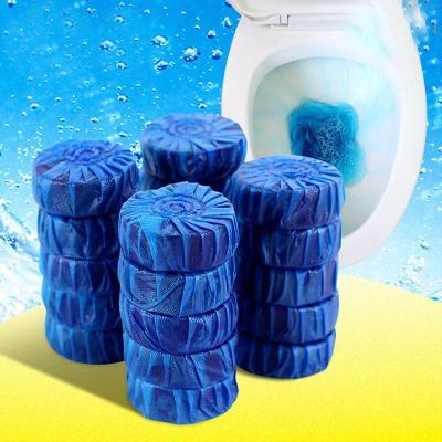 蓝泡泡20只装洁厕灵蓝泡泡洁厕宝厕所除臭马桶清洁剂洁厕块清香