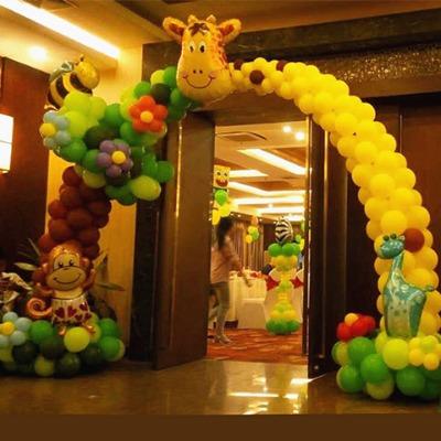 气球拱门支架批发儿童生日派对装饰气球套装幼儿园节日布置店庆