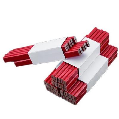 20支/50支/100支粗芯木工铅笔记号笔 木工专用笔木工画笔扁芯铅笔