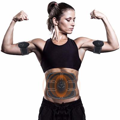 【完美身材】【男女通用】【三个主机全套】智能健腹器瘦身器材收腹部贴运动健身器材练腹肌轮训练器肌肉仪家用懒人男士锻炼健腹