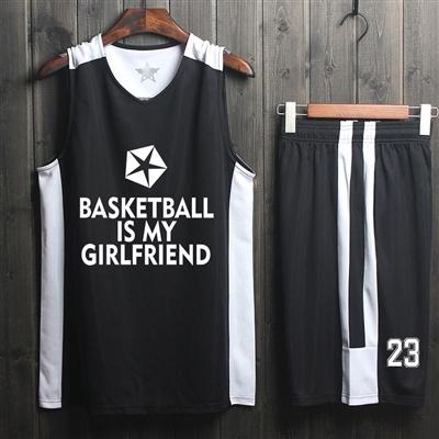 新款篮球服套装男女 儿童球服印字 大学生大码篮球衣背心团队定制