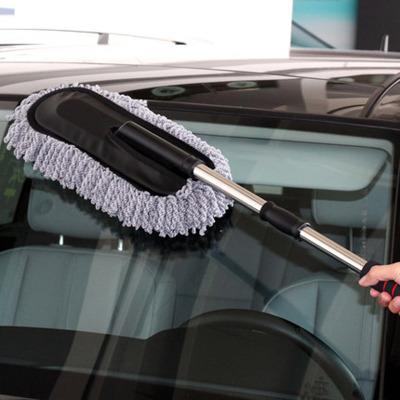 汽车蜡刷扫灰除尘擦车掸蜡拖洗车拖把洗车拖把刷子车掸除雪清洁