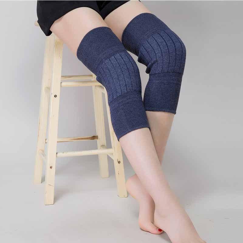 羊绒护膝保暖老寒腿男女士羊毛秋冬季自发热老人专用四季加厚防寒