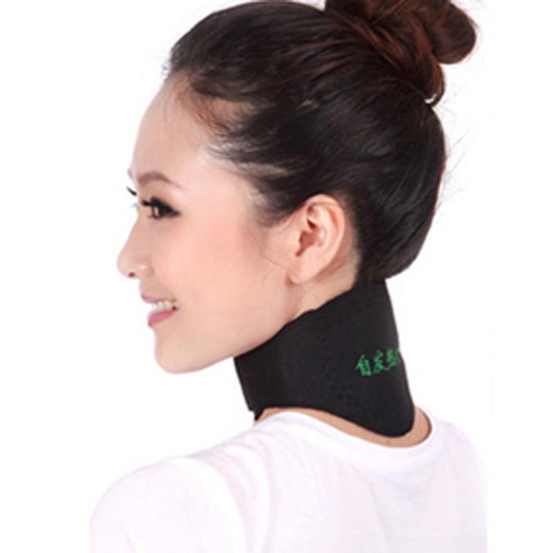 自发热护颈带椎套保护肩颈椎热敷保暖透气薄款家用颈脖套
