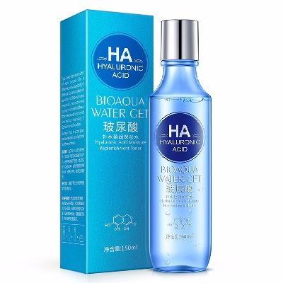 正品玻尿酸爽肤水女士保湿水 高效补水滋润肌肤光泽水嫩 150ml