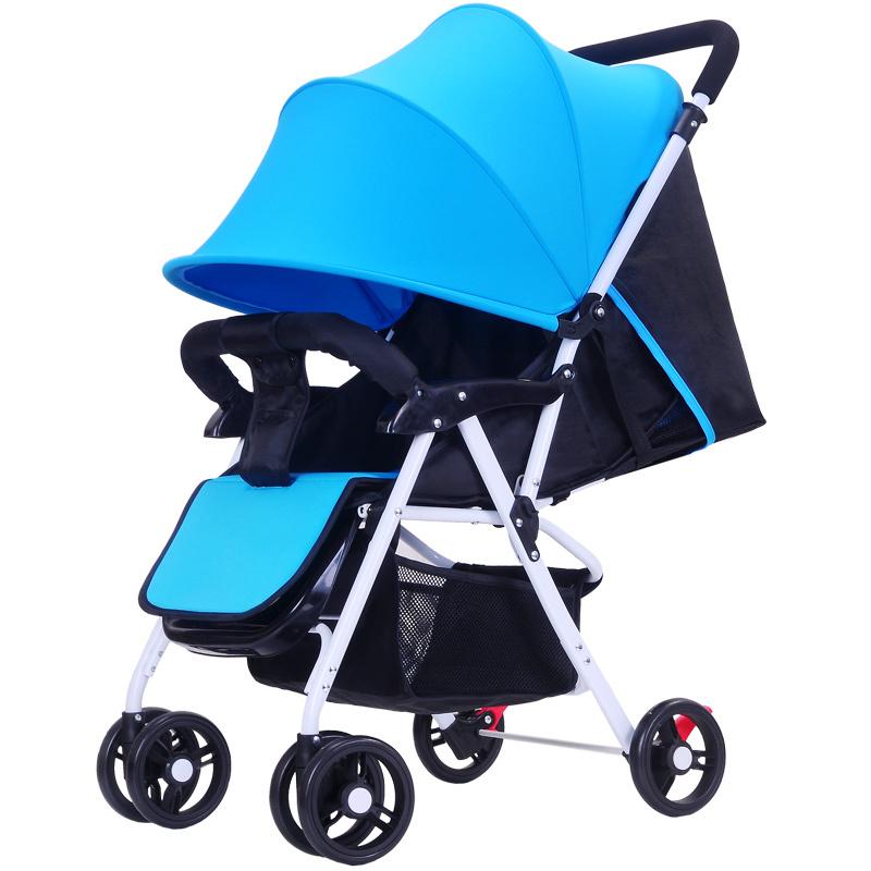 新品婴儿推车轻便伞车折叠婴儿车可坐可躺宝宝儿童上飞机婴儿车子