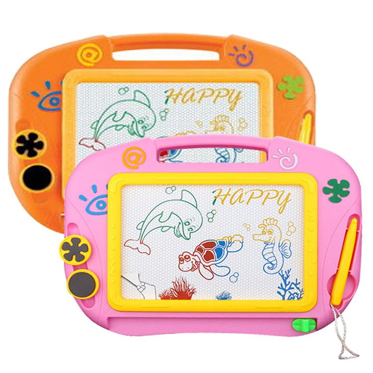 儿童画板大号画画板宝宝彩色磁性小画板涂鸦板益智写字板儿童玩具