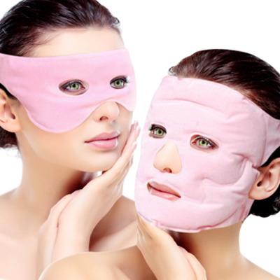 升级款【美容面罩+美容眼罩两件套】可重复使用,用半年。磁疗生物面罩:美白保湿补水紧致肌肤淡化色斑瘦脸。美容眼罩:淡化黑眼圈,眼部细纹,和眼袋。套装护理更有效。可冷敷和热敷。(热敷泡在热水里面,然后使用。冷敷放在冰箱冷藏一下使用,夏季适用)建议每次用完护肤品后使用,也可以用完面膜贴和眼霜再用,效果更佳。冬季适合在热水里面泡2分钟左右再使用,更舒适。长期使用更有瘦脸淡化细纹的效果。