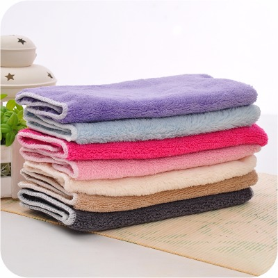 10条厨房不沾油洗碗巾超细纤维洗碗布吸水不掉毛清洁巾厨房清洁布