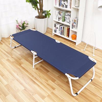 加固折叠床单人床办公室午休床午睡床沙滩床行军床陪护床颜色随机