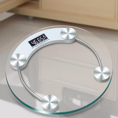 33cm大款精准电子称家庭用体重秤圆形 称重人体电子健康秤钢