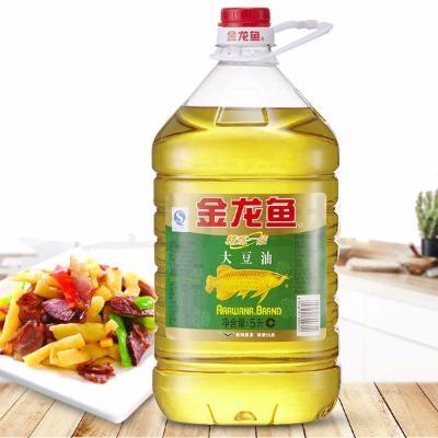 金龙鱼精炼一级大豆油5L/1.8L桶营养健康家用烘焙炒菜餐饮食用油