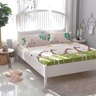 【精品床笠】床笠单件纯棉床罩席梦思保护套全棉防尘罩床垫套床套儿童床垫罩