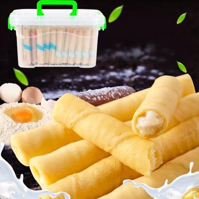 【特价180支】【收纳盒可选】夹心蛋卷3口味饼干批发零食36-180支