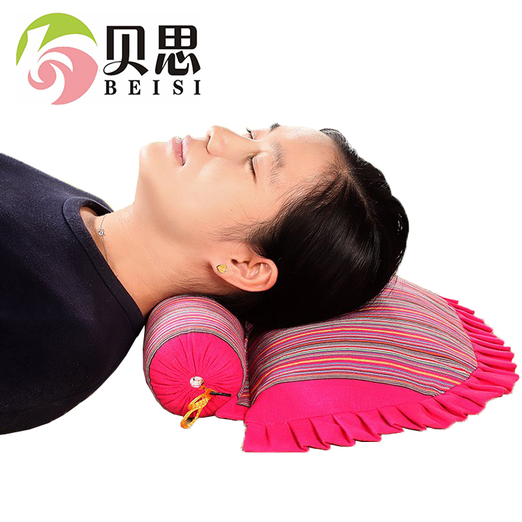 贝思全荞麦枕头椎枕保健枕修复护颈枕全荞麦皮枕芯多种颜色