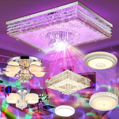 led灯具套餐套装组合客厅水晶灯卧室吸顶灯房间餐厅书房灯具