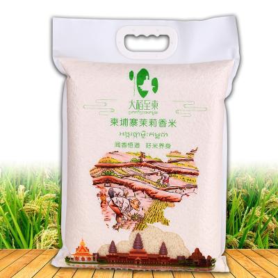 柬埔寨茉莉香米一级大米10斤装进口籼米长粒香米5kg农家新米