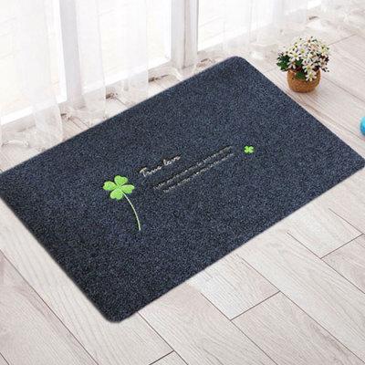 大号绣花拉绒门口地垫门垫卫浴防滑垫进门家用地板地毯厨房