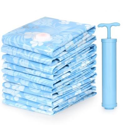 收纳博士棉被衣物压缩袋大号被子收纳袋家庭套装收纳压缩袋手动泵