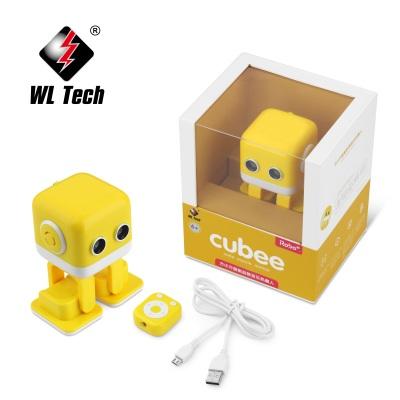 智能跳舞方小方机器人 APP蓝牙音箱手机遥控玩具儿童成长电子宠物