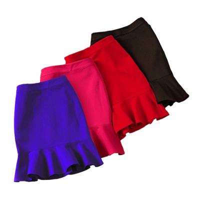 夏季女装短裙半身裙女裙子夏学生包臀裙半裙鱼尾裙包裙女士一步裙