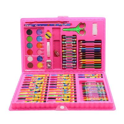水彩笔儿童幼儿园彩色笔套装绘画笔铅笔油画棒文具彩铅笔学习工具