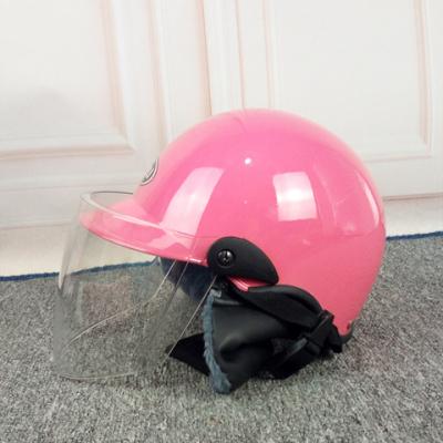 头盔可拆卸保暖两用新款时尚骑行车情侣轻便式防晒可爱透防紫外线