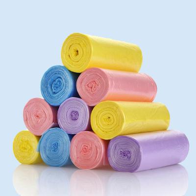 5卷装断点式垃圾袋 居家实用环保耐用不易破断点式垃圾颜色随机发