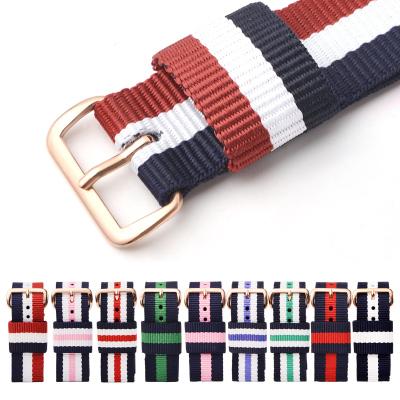 尼龙带帆布带手表带13mm 17mm 18mm 19mm 20mm男女通用表带