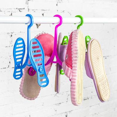 4只装创意可拆卸式晒鞋架 晒鞋子挂钩 便携式挂鞋架晾鞋架