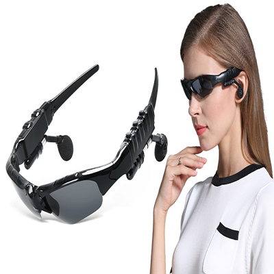 79元充电智能无线立体声蓝牙眼镜 户外太阳镜片运动听歌打电话