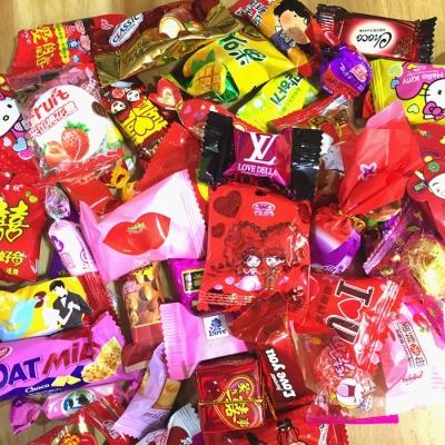 多种混装结婚喜糖散装5斤婚庆喜糖年货零食巧克力软糖水果糖酥糖