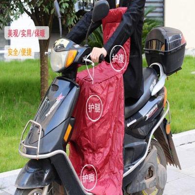 电动车挡风被夏季防晒防风手套遮阳罩电瓶车摩托车护膝护腿 摩托车挡风罩护膝防水保暖