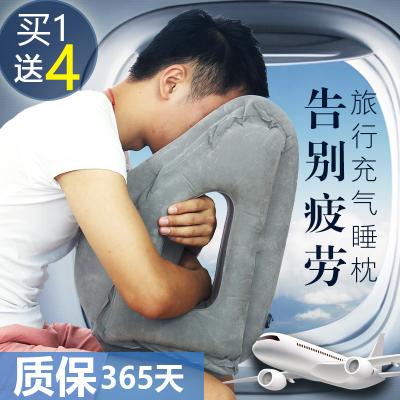 云自游 长途飞机旅行护颈枕睡觉神器便携充气U型枕多功能趴睡枕午睡枕