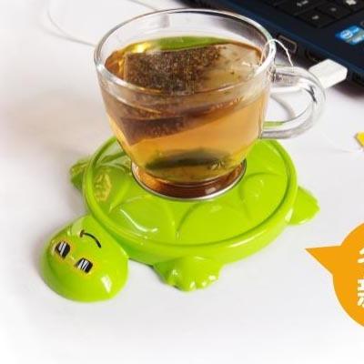 创意保暖产品创意礼品USB保暖 乌龟造型保温碟暖奶器温奶器保温杯垫