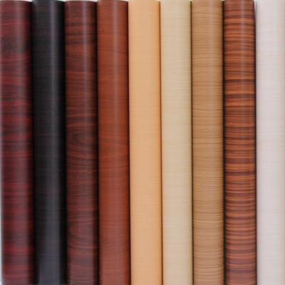 木纹贴纸防水自粘家具衣柜柜子桌面翻新贴纸旧房门墙壁纸PVC墙纸